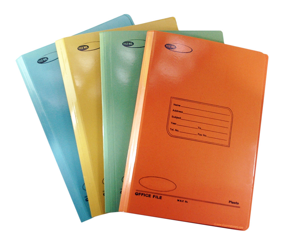 Buy Generic Office File Spring Clip Laminated F/s online @ ShaanStationery.com - School & Office ...